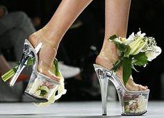 Scherer Gonzales: scarpe con decorazioni floreali   Stylosophy