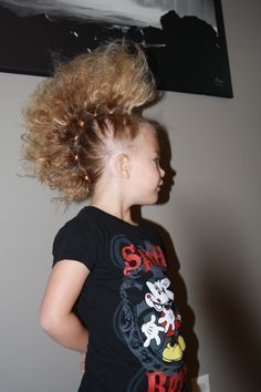 It's Crazy Hair Day!