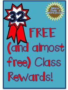 free class rewards