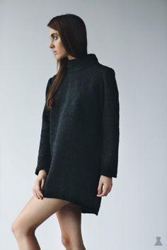 wool turtle sweater