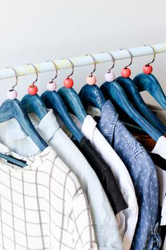 DIY Clothing Hanger IdeaPaper and Stitch