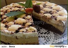 Caffé řezy recept - TopRecepty.cz Cake Recipes, Dessert Recipes, Thing 1, Tiramisu, Cheesecake, Cooking Recipes, Treats, Sweet, Food