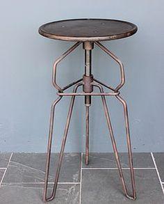 Industrial Adjustable Stool - furniture
