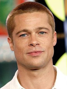 Anyone else remember when Brad Pitt looked like this?!  I know this was in 2004, but damn, he's looking pretty grungy and gross lately.