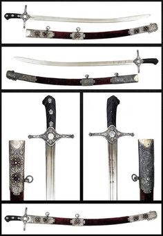 Karabela Saber.      Dated: late 18th -early 19th century.     Culture: Polish or Ukrainian. Copyright 2013 © Auction Flex