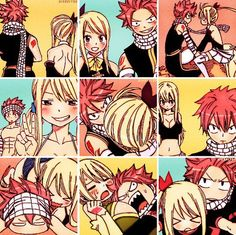 Shared by Naty_nalu. Find images and videos about anime, manga and fairy tail on We Heart It - the app to get lost in what you love. Natsu Fairy Tail, Fairy Tail Ships, Art Fairy Tail, Fairy Tail Amour, Fairy Tail Meme, Fairy Tail Quotes, Fairy Tail Comics, Fairy Tail Lucy, Fairy Tail Guild