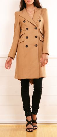 SMYTHE COAT ... long coats like this make me feel so tiny and short