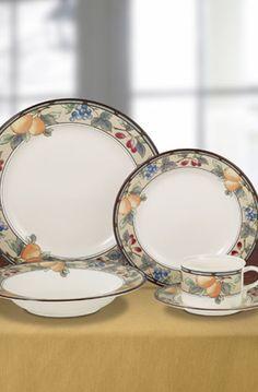 Garden Harvest 5 Piece Place Setting & Mikasa Arabella Dinnerware Sets | Mikasa Patterns u0026 Collections ...