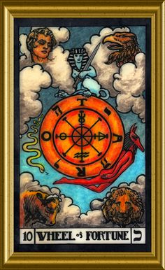 Wheel of Fortune. Wheel Of Fortune, Human Condition, Oracle Cards, Tarot Decks, Tarot Cards, Affirmations, Vintage World Maps, Journey, Wisdom