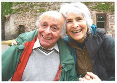 Buddy Elias (Anne Frank's cousin), and his wife, Gerti.