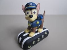 I had lots of request to make the Paw Patrol, they are all so cute, but I decided to make Chase! Hope you like him :D Enjoy!!!