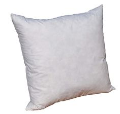 Pillowflex 95% Feather by 5% Down Pillow Form Insert Stuffers for throw sham covers and cushions (28 Inch by 28 Inch) * Read more reviews of the product by visiting the link on the image. (This is an affiliate link and I receive a commission for the sales)