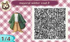 Mayoral Winter Coat QR code (oslocrossing) Full codes at source.