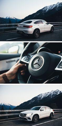 Sporty and dynamic: The Mercedes-Benz GLC Coupé. Photos by Kristina Hader (kristinahader.com) for #MBsocialcar