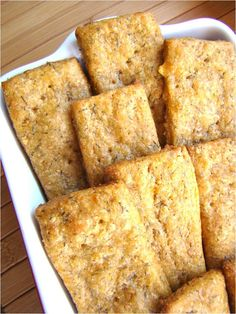 Dill Cheddar Wheat Crackers