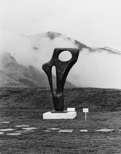 Barbara Hepworth's Figure (Archaean) 1959 at Hakone Open-Air Museum, 1970
