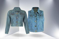 Denim jackets are perfect paired with a summer dress or a high-waisted skater skirt, and now they're only £16!