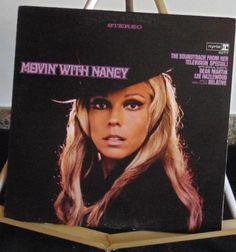 Nancy Sinatra Lp Movin' with Nancy Near Mint #1960sClassicPop