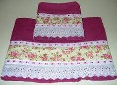 Resultado de imagen para toalhas de banho bordadas