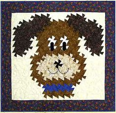 Who Let the Dogs Out Twister Quilt Pattern by Raggedy Ruth Designs