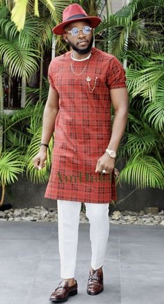 Hello here are some adorable African men stylish wears that you really need to take a look at. These wears will make you look good this festive season. African Wear Styles For Men, African Shirts For Men, African Dresses Men, African Attire For Men, African Clothing For Men, Latest African Fashion Dresses, Nigerian Men Fashion, Indian Men Fashion, Mens Fashion Wear