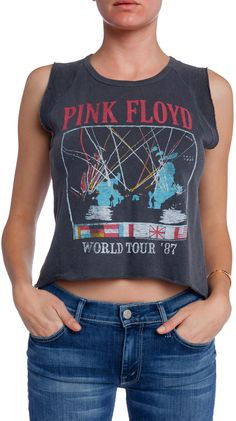 Junk Food CLOTHING Pink Floyd Roxy Tee on shopstyle.com