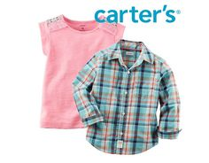 Carter's   Online Flash Sale Up to 75% Off (Today Only) $4.00 (carters.com)