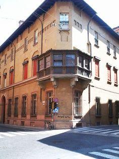 Via Marsili angolo Via D'Azeglio Bologna Italy