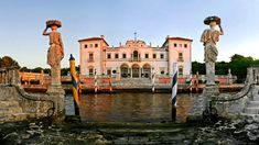 The Vizcaya Museum and Gardens in Miami, Florida is an extraordinary European-inspired estate with antique art and furnishings, ten acres of gardens and a historic village.