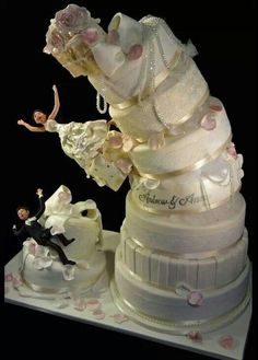 Perfect wedd cake