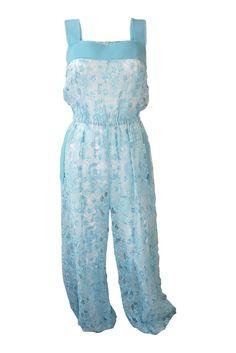 DOLCE & Gabbana baby blue lace jumpsuit