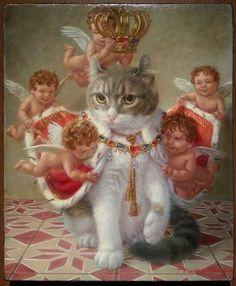 Tokuhiro Kawai CAT ART • My cat - Haru
