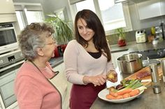 Personal Care in the Home, food preparation, washing, dressing, medication, cleaning