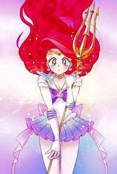 Sailor Ariel Fan Art Disney Princess Sailor Moon Crossover