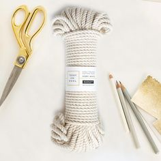 Cotton Cord, White / Beige Rope , Natural String, high quality yarn perfect for crafting Weaving Projects, Macrame Projects, Cotton Cord, Cotton String, Macrame Supplies, Macrame Cord, Tips & Tricks, Macrame Tutorial, Macrame Patterns