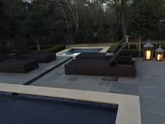 Spa separate from pool