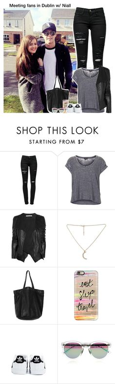 """Meeting fans in Dublin w/ Niall (plz read description)"" by aileen2704 ❤ liked on Polyvore featuring Frame Denim, Topshop, Willow, Monki, Casetify, adidas, rag & bone, OneDirection, 1d and NiallHoran"
