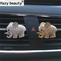 Cheap car perfume clip, Buy Quality air freshener directly from China car perfume Suppliers: Hazy beauty High-grade diamond crystal elephant car perfume clip lady car styling air outlet accessories Air Freshener Styling Elephant Love, Elephant Art, Elephant Stuff, Elephant Gifts For Her, Happy Elephant, Colorful Elephant, Elephant Parade, Elephant Jewelry, Giraffe