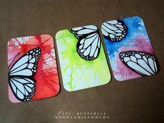 butterfly..my second ATC