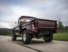 Legacy Classic Trucks is best-known for ultra-modern, highly custom versions of the classic 1946-1968 Dodge Power Wagon. Their latest creation is a tribute to the original Chevy 1950s-era NAPCO 4x4 pickup truck, a beautiful conversion that combines t