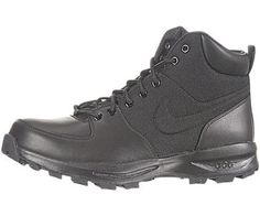 promo code 01275 b85c8 Nike Manoa Leather Mens ACG Boots Black Style   456975-001 Size 10 M US