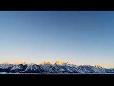 Grand Teton Sunrise [ FEB 24 ] Teton Tube, Time-lapse