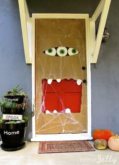 These 8 Fun Halloween Door Ideas are not only boo-tiful but the perfect inspiration for you to decorate your home door or classroom door!