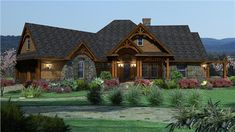 """<p>Great <strong> country, Texas, ranch house plan </strong> that offers many luxurious features. Plenty of photos for your review. <u><strong>This is a smaller version of a design featured in the April 5, 2013 edition of The Wall Street Journal. </strong></u> Please see our plan <a href=""""http://www.theplancollection.com/house-plans/home-plan-26332"""">117-1094.</a></p>"""