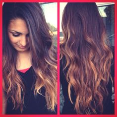 Ombré Hair Hairstyle