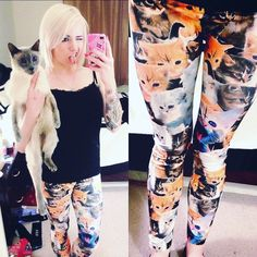 07f68c2fe32d5 80 Best Crazy Cat Lady - Clothing & Accessories images | Clothes for ...