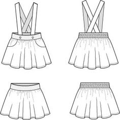 Over the Top: sizes vintage suspender skirt with pockets-pinafore – Duchess & Hare Toddler Sewing Patterns, Baby Girl Dress Patterns, Sewing For Kids, Sewing Clothes, Diy Clothes, Girls In Suspenders, Little Girl Skirts, Dress Design Sketches, Toddler Skirt