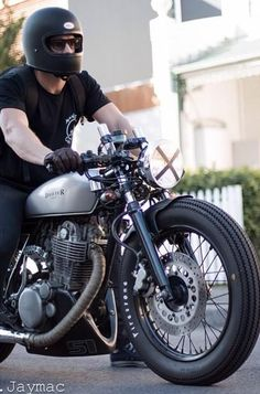 cafe racer style helmet - google search | bikes | pinterest | cafe