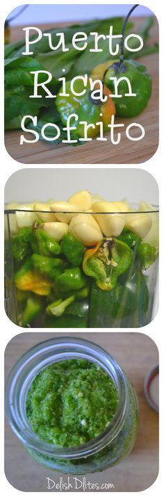Get the recipe for homemade Puerto Rican sofrito! http://delishdlites.com/latin-recipes/puerto-rican-sofrito-recipe/ #sofrito #latin #puertoricanfood