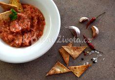 Recept na vynikající mexickou rajčatovou salsu Salsa, Nachos, Curry, Ethnic Recipes, Food, Curries, Eten, Meals, Salsa Music